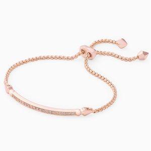 Kendra Scott Rose Gold Adjustable Chain Bracelet